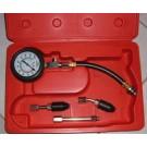 Compressiemeterset voor Benzine motoren  0-20 bar