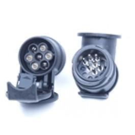 Adapter 7 polig doos / 13 polig stekker